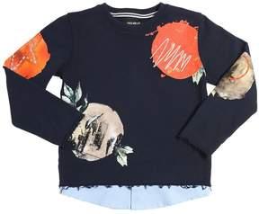 Fred Mello Printed Cotton Sweatshirt