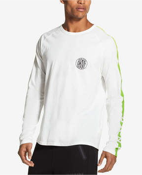 DKNY Men's Long-Sleeve Graphic-Print T-Shirt