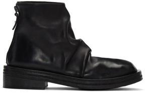 Marsèll Black Scatalone Boots