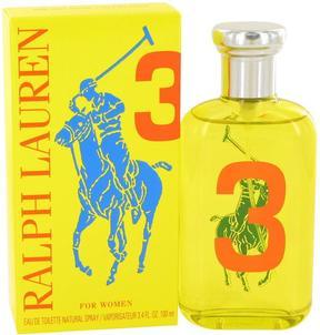 Big Pony Yellow 3 by Ralph Lauren Eau De Toilette Spray for Women (3.4 oz)