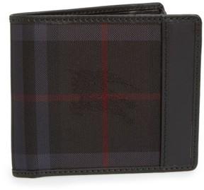 Burberry Men's Horseferry Check Billfold Wallet - Black