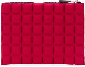 No Ka' Oi mini textured clutch bag