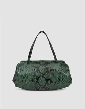 Clare Vivier Yvette Snakeskin Handbag
