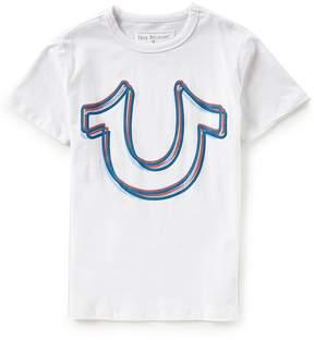 True Religion Little Boys 2T-7 Short-Sleeve Horseshoe Tee