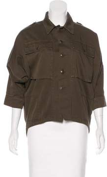 Boy By Band Of Outsiders Button-Up Utility Jacket