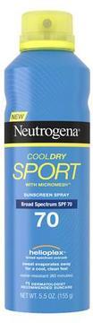 Neutrogena CoolDry Sport Sunscreen Spray SPF 70