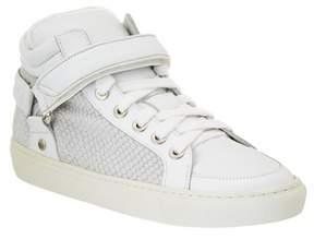 Maje Gabriel Leather Sneaker.