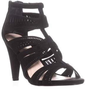 Alfani Womens Choley Leather Open Toe Casual Strappy Sandals.