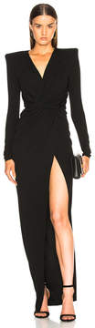 Alexandre Vauthier Ruched Gown
