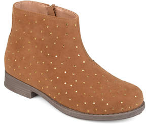 Journee Collection Tan Clancy Ankle Boot