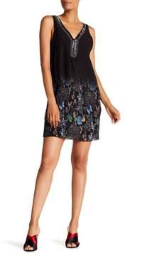 Desigual Sophia Embroidered Puckered Dress