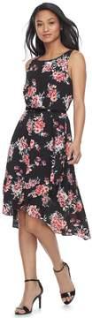 Elle Women's Ruffle High-Low Hem Dress