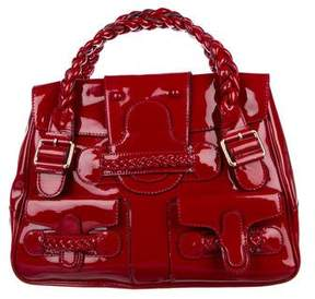Valentino Patent Leather Historie Bag