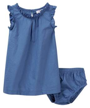 AG Jeans Light Weight Woven Dress & Bloomer Set (Baby Girls)