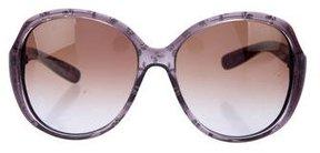 Bottega Veneta Oversize Printed Sunglasses