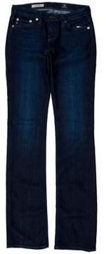 Adriano Goldschmied Mid-Rise Straight-Leg Jeans w/ Tags