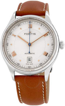 Fortis Terrestis 19 A.M. Automatic Silver Dial Men's Watch 902.20.22