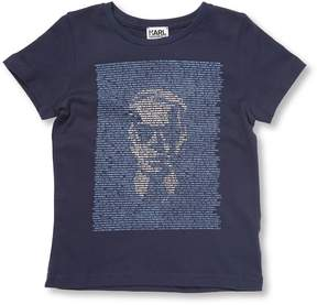 Karl Lagerfeld Little Boy's Graphic T-Shirt