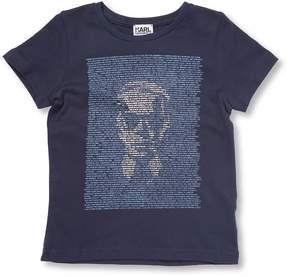 Karl Lagerfeld Little Boy's Graphic T-Shirt