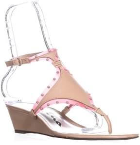 Nina Originals Vevilla T-strap Sandals, Nude/pink.