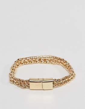 Aldo Chain Bracelet In Antique Gold
