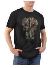 Icon Eyewear Movies & TV Punisher filled realtree logo Men's graphic tee shirt