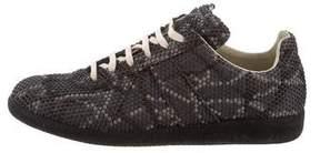 Maison Margiela Textured Replica Sneakers