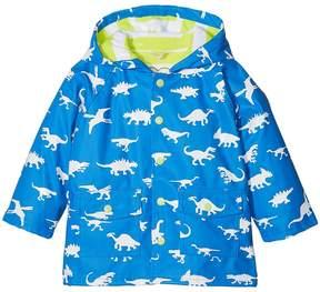Hatley Color Changing Dinosaur Menagerie Classic Raincoat Boy's Coat