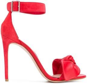 Alexander McQueen bow detail sandals