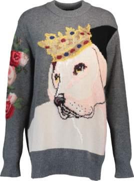 DOLCE & GABBANA Intarsia Dog Sweater