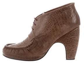 Rachel Comey Embossed Leather Oxford Pumps
