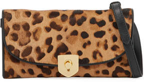Cole Haan Calf Hair Animal-Print Crossbody Bag