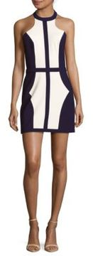 Finders Keepers Colorblock Sleeveless Shift Dress