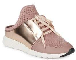 Dolce Vita Mesh Lace-Up Sneakers