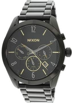Nixon Men's Bullet Chrono A3661616 Black Metal Quartz Fashion Watch