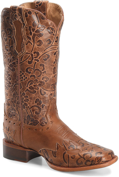 Sonora Rust Jana Leather Cowboy Boot