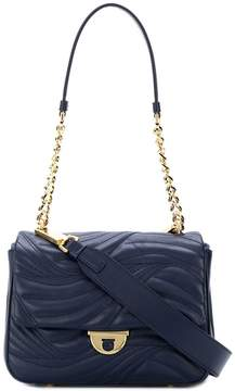 Salvatore Ferragamo quilted chain and leather shoulder bag