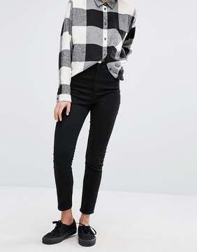 Monki Oki Premium Skinny High Waisted Jeans