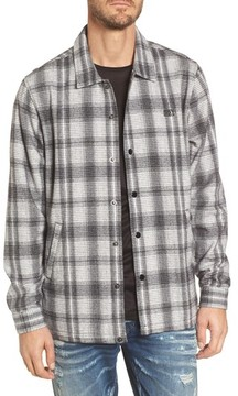 Obey Men's Whittier Plaid Flannel Shirt Jacket