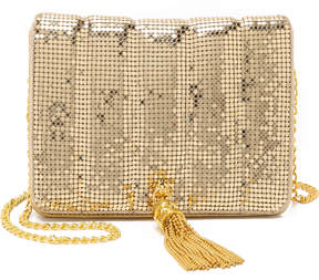 Whiting & Davis Quilted Tassel Bag