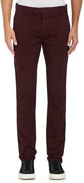 J Brand Men's Brooks Stretch-Cotton Flat-Front Trousers