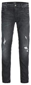 Jack and Jones Distressed Jeans