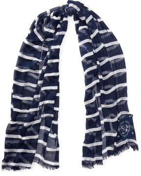 Ralph Lauren Nautical Striped Scarf