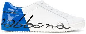 Dolce & Gabbana Kids scrawled logo sneakers