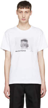 Helmut Lang White Walter Pfeiffer Edition Head 1984 T-Shirt