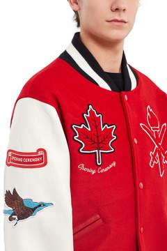 Opening Ceremony Canada Varsity Jacket