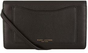 Marc Jacobs Recruit Cross Body Wallet - BLACK - STYLE