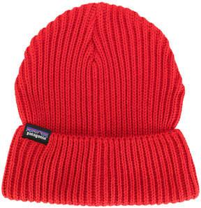 Patagonia ribbed beanie hat