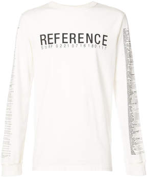 Yang Li print long sleeve T-shirt