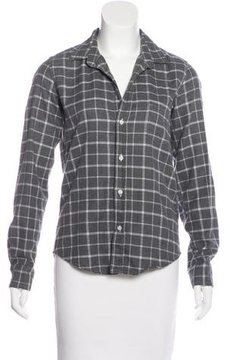 Frank And Eileen Plaid Button-Up Top